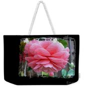 Layers Of Pink Camellia Dream Weekender Tote Bag