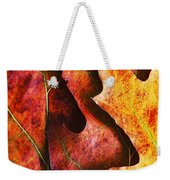 Layers Of Shades Of Autumn Weekender Tote Bag