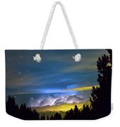 Layers Of The Night Weekender Tote Bag