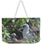 Laysan Albatross Chick Weekender Tote Bag