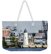 Lazaretto Point Lighthouse Weekender Tote Bag