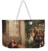 Lazarus And The Rich Man 1865 Weekender Tote Bag