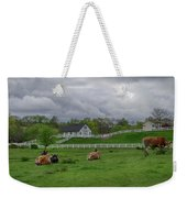 Lazy Afternoon In The Country Weekender Tote Bag