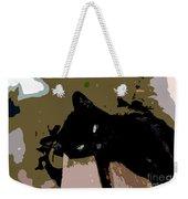 Lazy Cat Weekender Tote Bag