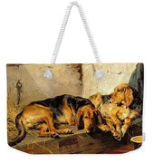Lazy Moments Weekender Tote Bag by John Sargent Noble