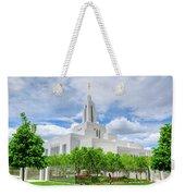 Lds Draper Temple Weekender Tote Bag
