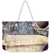 Le Bain Paris Blue Weekender Tote Bag