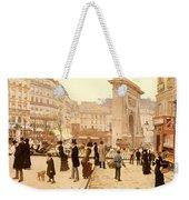 Le Boulevard St Denis - Paris Weekender Tote Bag