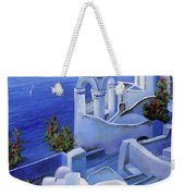 Le Chiese Blu Weekender Tote Bag