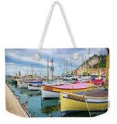 Le Fortune At Nice Harbor, France Weekender Tote Bag