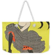 Le Frou Frou Vintage Poster By Leonetto Cappiello, 1899 Weekender Tote Bag