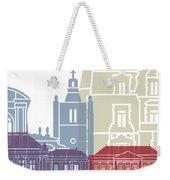 Le Havre Skyline Poster Weekender Tote Bag