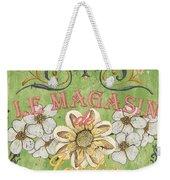 Le Magasin De Jardin Weekender Tote Bag by Debbie DeWitt