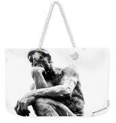 Le Penseur Weekender Tote Bag
