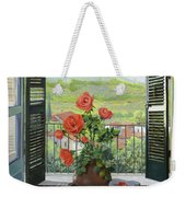 Le Persiane Sulla Valle Weekender Tote Bag by Guido Borelli