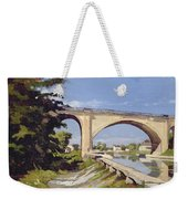Le Pont Canal A Briare Weekender Tote Bag