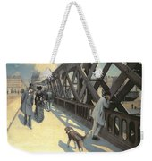Le Pont De L'europe Weekender Tote Bag