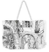 Le Pontis Saint-paul De Vence France Weekender Tote Bag