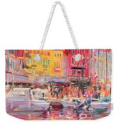Le Port De St Tropez Weekender Tote Bag by Peter Graham