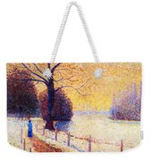 Le Puy In The Snow 1889 Weekender Tote Bag