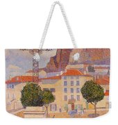 Le Puy The Sunny Plaza 1890 Weekender Tote Bag