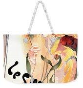Le Sillon - The Path - Vintage Art Nouveau Poster Weekender Tote Bag