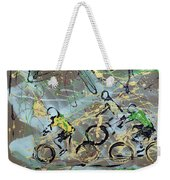 Le Tour A Weekender Tote Bag