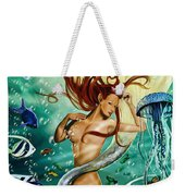 Lea The Mermaid Weekender Tote Bag