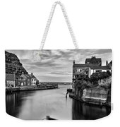 Leading Light At Staithes Weekender Tote Bag