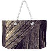 Leaf Abstract  24  Sepia   Weekender Tote Bag