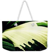 Leaf Abstract 7 Weekender Tote Bag