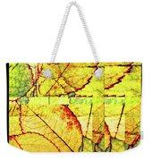 Leaf Abstract Weekender Tote Bag
