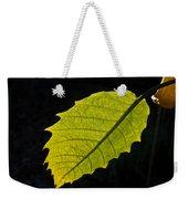 Leaf Aglow Weekender Tote Bag