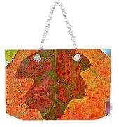 Leaf Behind Weekender Tote Bag