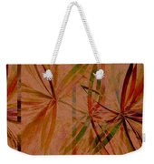 Leaf Dance Weekender Tote Bag