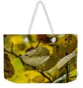 Leaf Dew Weekender Tote Bag