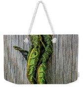 Leaf Entwined Weekender Tote Bag