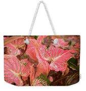 Leaf Of Color Weekender Tote Bag