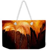 Leaf On Bricks 2 Weekender Tote Bag