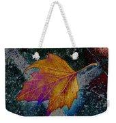 Leaf On Bricks 4 Weekender Tote Bag
