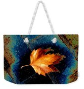 Leaf On Bricks 5 Weekender Tote Bag