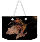 Leaf On Bricks Weekender Tote Bag