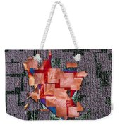 Leaf On Stone 2 Weekender Tote Bag