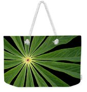 Leaf Pattern Weekender Tote Bag