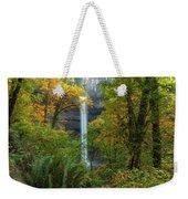Leaf Peeping And Waterfall Weekender Tote Bag