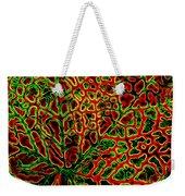 Leaf Segment Abstract Weekender Tote Bag
