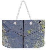 Leaf Structure Weekender Tote Bag by Debbie Cundy