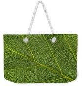 Leaf Textures Weekender Tote Bag