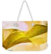 Leaf Y Weekender Tote Bag