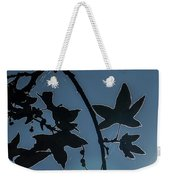 Leafs Backlit Weekender Tote Bag